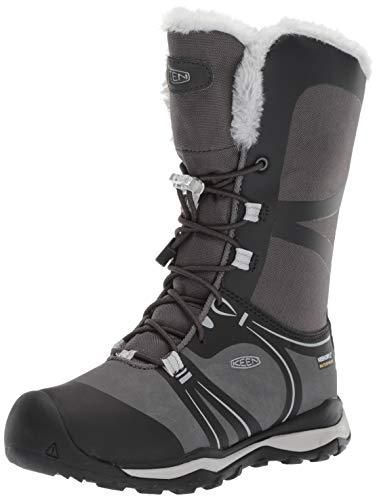 KEEN Raven/Vapor, Chaussures de Randonnée Hautes Mixte, Noir Terradora Winter WP 1019790, 38 EU
