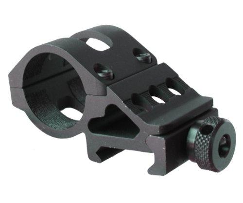 Global Olight M Series Offset Mount M Series Flashlight Offset Gun Mount, Black