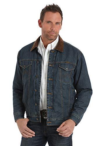 Wrangler Men's Western Concealed Carry Blanket Lined Denim...
