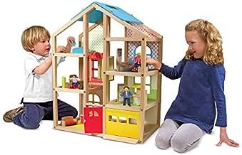 Melissa & Doug Hi-Rise Dollhouse and Furniture Set