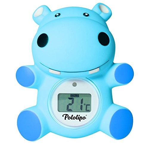 Thermomètre de bain digital Pololipo bleu - Visiomed
