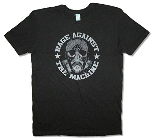 Rage Against The Machine Bandana Mask Black T Shirt New RATM