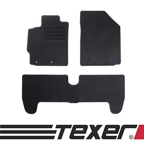 CARMAT TEXER Textil Fußmatten Passend für Toyota Yaris II Bj. 2005-2011 Basic