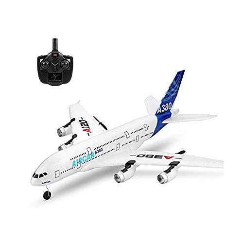 BHJH7 Avión RC Avión RC Avión RC 2.4G Radio Control Avión de juguete rompecabezas Avión de motor de alto rendimiento 3CH Glider para niños adultos Avión para principiantes Vuelo interior al aire libre
