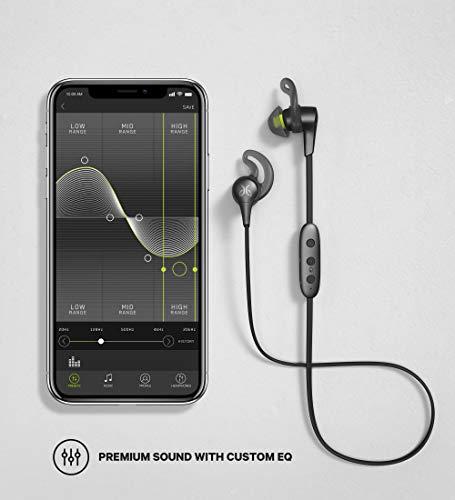 Jaybird X4 Auriculares inalámbricos Bluetooth para deporte Fitness y Correr, Compatible con iOS y Android Smartphones: a prueba de sudor e impermeable, color negro metálico/flash