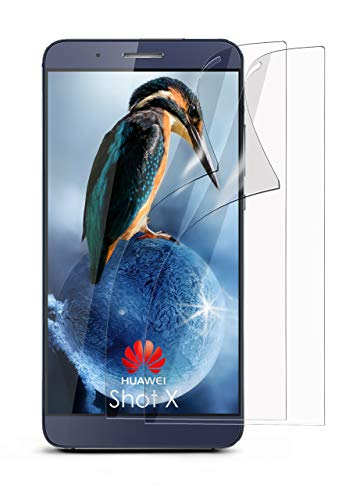 MoEx® Kristallklare HD Schutzfolie passend für Huawei ShotX | Premium Bildschirmfolie - Kratzfest & Fast unsichtbar - Ultra Klar