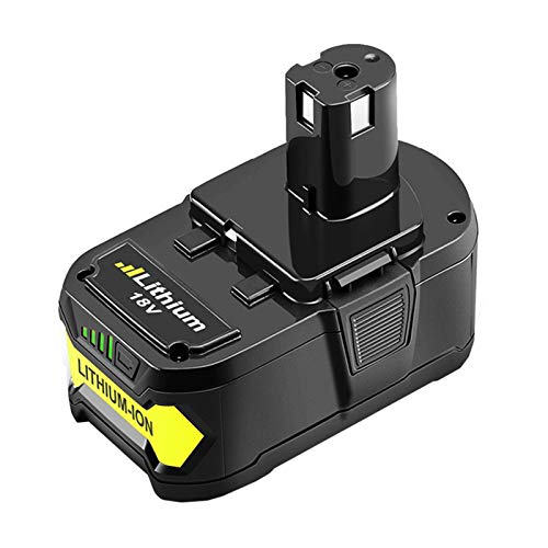 18V 6.0Ah P108 Battery Replacement for Ryobi 18 Volt Battery Lithium P102 P103 P104 P105 P107 P109 P122 Cordless Tool