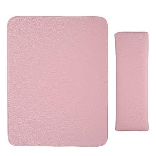 Soft Nail Art Schoonheidssalon Handkussen Armsteun Houder Kussen Mat Set Manicure Tool, voor Nagelsalons, Huizen(Roze)