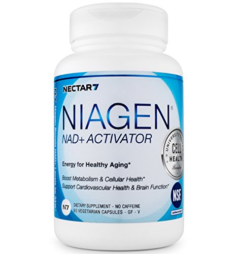Nectar7 Niagen Nicotinamide Riboside (NR) Vegetarian Capsules with NAD+ Activator, 30 Day Supply