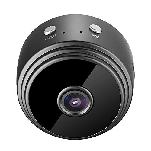 A9 Mini Spy Camera Wireless 1080p HD, Wi-Fi Remote IP Video Ufficio webcam conferenza, Hidden rotonda fotocamera, Baby Room anziani telecamera di sicurezza Home DVR Nanny