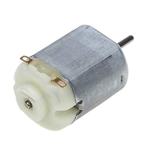 Mini motor eléctrico CC de 1,5 V a 12 V, para juguetes de bricolaje, modelos de robot, 6500-15000 rpm