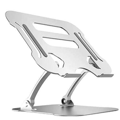 ZTSS Soporte Ordenador Portátil, Aluminio Soporte para Laptop Portátil Plegable y Ajustable Soporte Ordenadores para Todos Los Portátiles 11-17 Pulgadas MacBook/Ordenadores Portátiles/Notebook