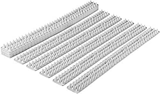 THERESA Spikes - Set of 10 x 48.8 cm Anti-Climbing Security for Your Fence, Walls and Railings to Prevent Human Intruders,...