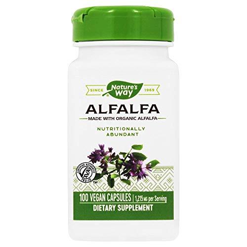 Nature's Way Alfalfa Leaves - 100 Capsules