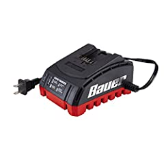 Charges all Bauer 20v lithium batteries Led status indicator lights give you accurate updates on charge time remaining Prevents overcharge, hot/cold extreme charging, charging when battery is damaged Can be wall-mounted Charger only, battery not incl...