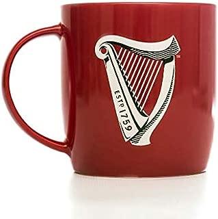 Guinness Red Mug with Signature White Harp