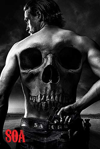 Grupo Erik Editores Poster Sons Of Anarchy (Skull)