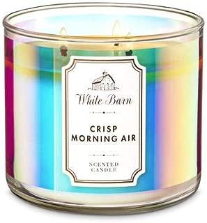 White Barn Bath & Body Works 3 Wick Candle Crisp Morning Air