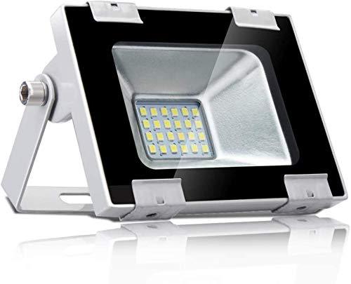 THj Foco Reflector LED de 100W 10000LM para Exteriores, luz Industrial, Reflector de luz de Pared súper Brillante para jardín, Patio, Impermeable IP65, CA 220-240V (Blanco frío, 100W)