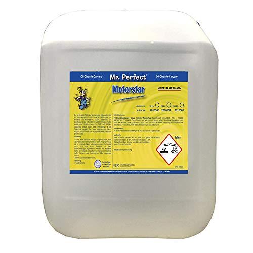 Mr. Perfect® Motorstar, 10L - Motoren- und Anlagenreiniger, Teilereiniger zum Entfernen von Öl, Fett, Ruß