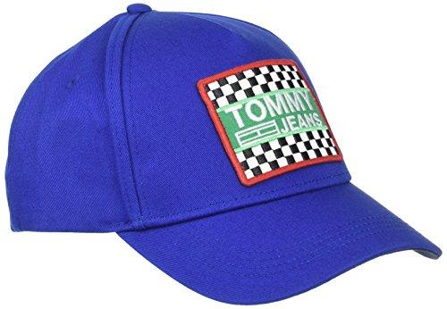 Tommy Hilfiger Big Logo Patch Gorra de béisbol, Azul (Nautical Blue 483), Talla...