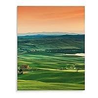 トスカーナ 撮影 眺め アートパネル 絵画 油絵 インテリア 自然の美 壁飾り キャンバス 色褪せない アートパネル 2サイズ リビングルーム 開業祝い バー アートポスター 木枠付き