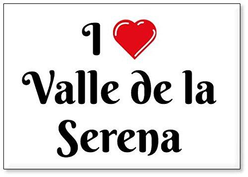 Mundus Souvenirs - Amo Valle de la Serena, Imán para Nevera (diseño 3)