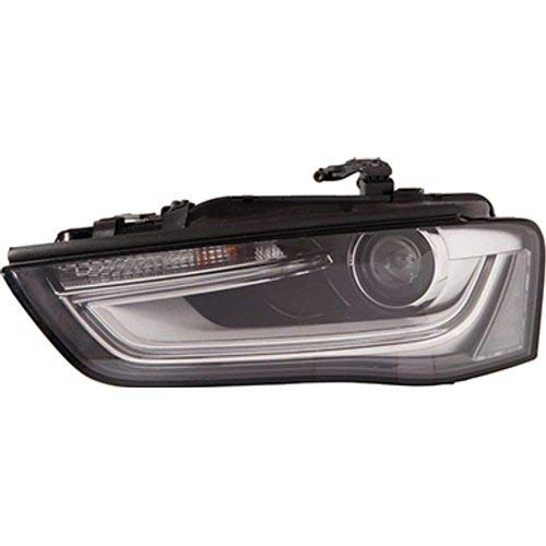 12- front lamp XENON D3S + LED for daytime running lights (without control unit, with motor) el. controlled L