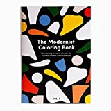 Modernist Coloring Book, 11.7 x 8.2 in, 56 Pages