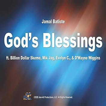 God's Blessings (feat. Billion Dollar Skeme, Mik Jag, Evelyn C. & D'wayne Wiggins)