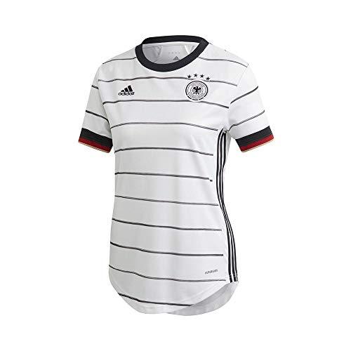 adidas Damen DFB H JSY W T-Shirt, White, XS