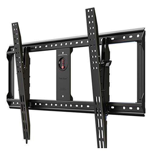 Soportes de pared y techo para TV Brazo con Bisagra Estante Universal TV Soporte De Exhibición Telescópica Inicio por 65-90 Pulgadas De TV Puede Soportar 90 Kg (Color : Black, Size : 96 * 61cm)