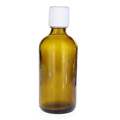 Flacon verre brun 100 ml