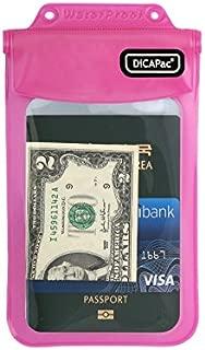 DiCAPac WP-565 Pink Personal Belongings Series Waterproof Case