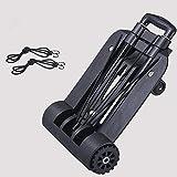 Stahlklapper Trollly-Taschen Faltbarer Einkaufswagen mit pneumatischer Pneumatik-Rad und 200 kg-Kapazität für den Gartenwagen und andere kompatible Tolleys (Color : Style#6)