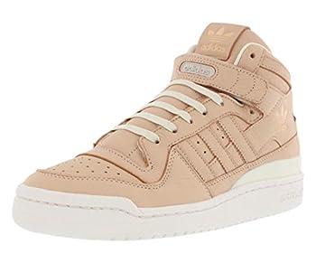 adidas Originals Men s Forum MID Refined Fashion Sneaker Supplier Colour/Supplier Colour/Chalk 8 M US