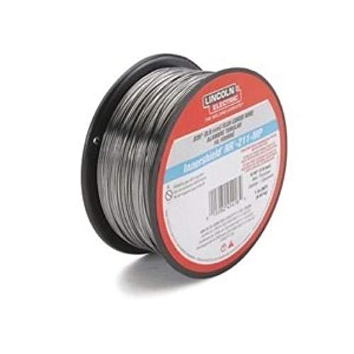 LINCOLN ELECTRIC CO ED031448 .030 NR-211, Lb Spool, Inner Shield Flux-Core Welding Wire,Black