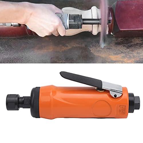 Amoladora de matriz de aire, Mini amoladora de matriz recta de aire KP-621H Máquina de pulir manual Amoladora neumática para pulir para recortar(European style)