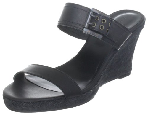 Strenesse Blue Damen Wedge Fashion-Sandalen, Schwarz (black 990), 36 EU