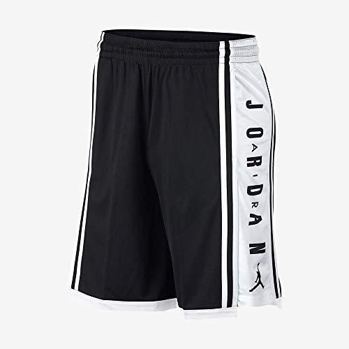 Nike Herren Hbr Basketball Hose, Schwarz/Weiß/Schwarz, XL