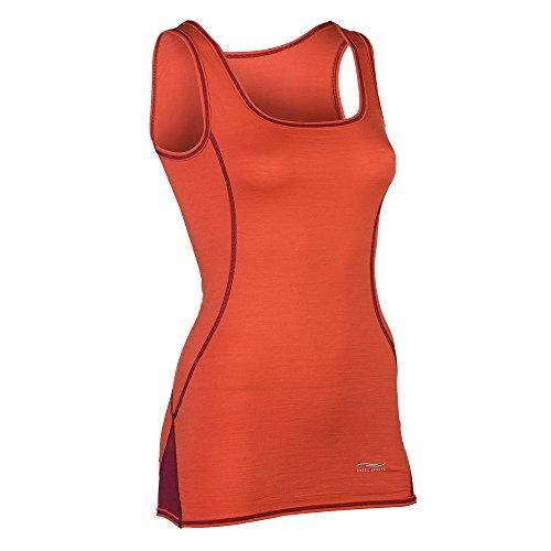 Engel Sports Bio functioneel ondergoed dames tanktop van bio merinowol en zijde met elastaanaandeel