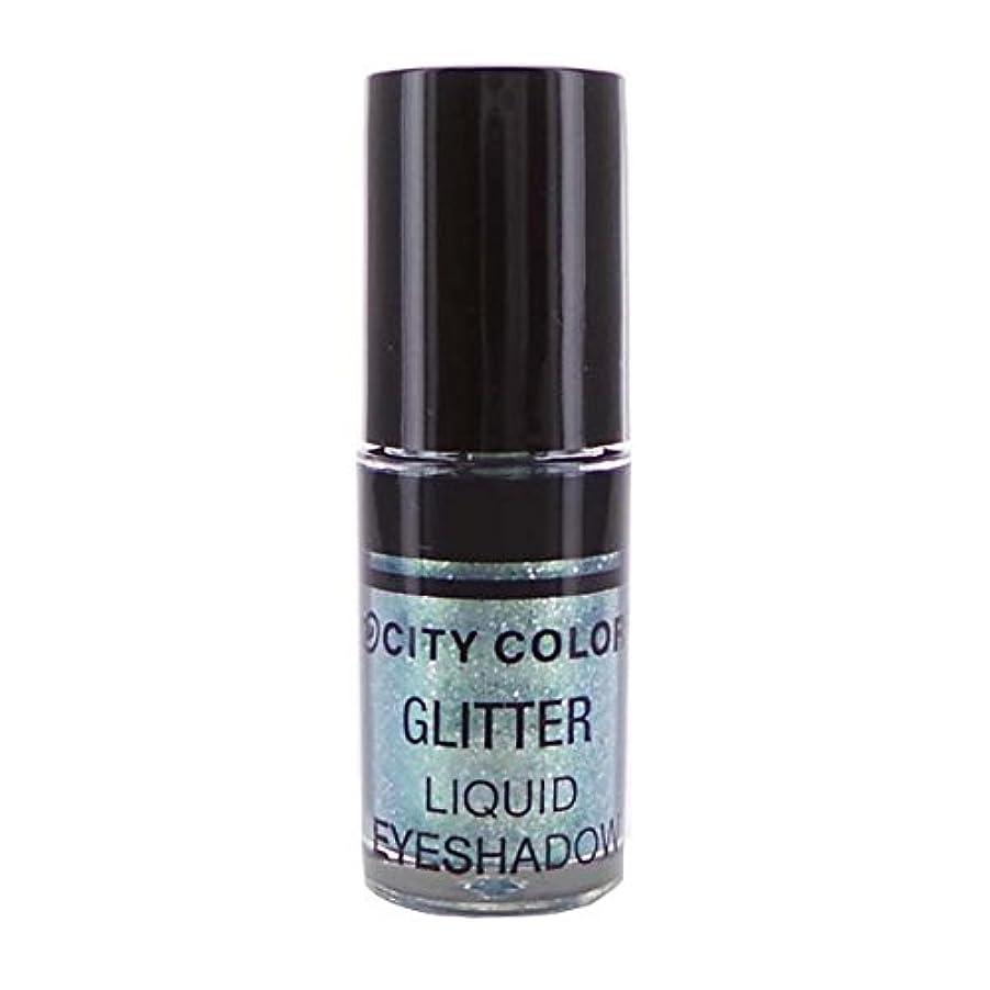 音声さまよう延期するCITY COLOR Hi-Shine Glitter Liquid Shadow - Mint Gold (並行輸入品)