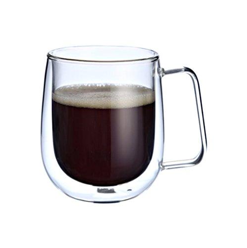 Espresso Becher Shot Glas Kaffee doppelwandig Thermo Isoliert