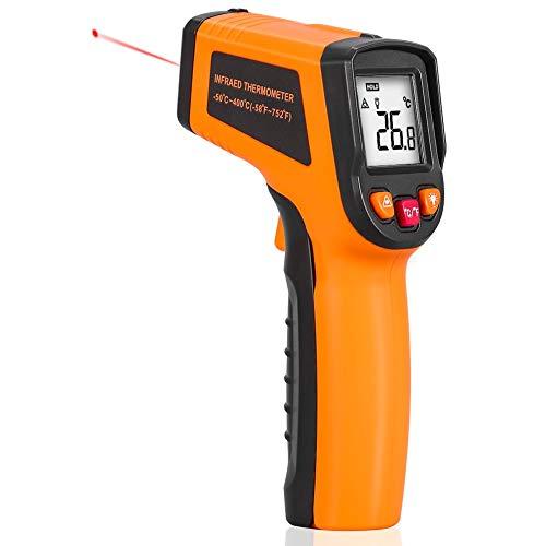 Thermomètre de Cuisine, 5 Modes Thermomètre de Cuisson Digital Numérique sans Fil pour BBQ avec Minuterie 2...