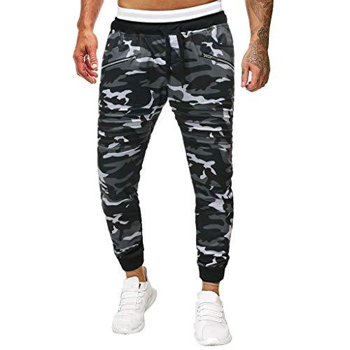 Goosuny Herren Sweatpants Im Camouflage Armyhose Hose Tights Freizeithose Pants Atmungsaktiv Jogginghose Fitness Trainingshose Joggen Sporthose Für Sport Fitness Gym Training