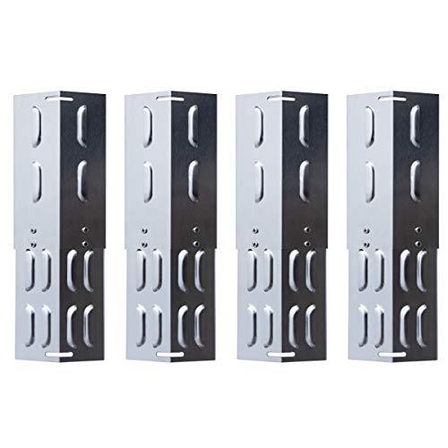 TAINO Universal-Brennerabdeckung Set Edelstahl größenverstellbar Tropfschutz Flammenverteiler (4er Set Universal)