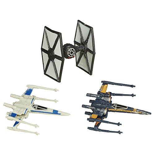 Star Wars The Force Awakens Micro Machines Deluxe Vehicle Pack Galactic Showdown Hasbro B3497AS0