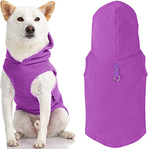 Gooby Dog Sweaters With Hoodie for Small Dogs.