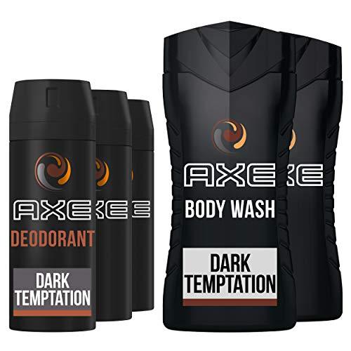 AXE Dark Temptation Geschenkset - Deodorant en Douchegel Cadeaupakket