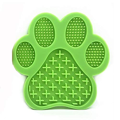 Chlius LeckenPad,Slow Feeder Lick Pad Hundespielzeug para Haustierbäder Cuidado Secar, Facilita la ducha